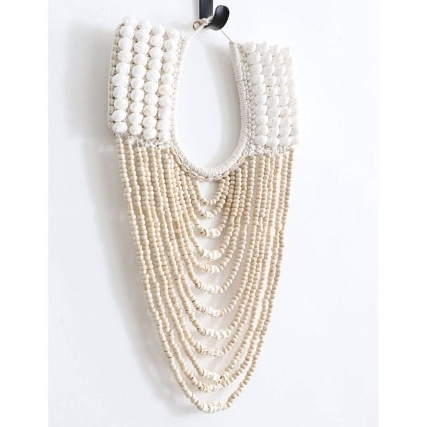 collier papou coquillages et perles
